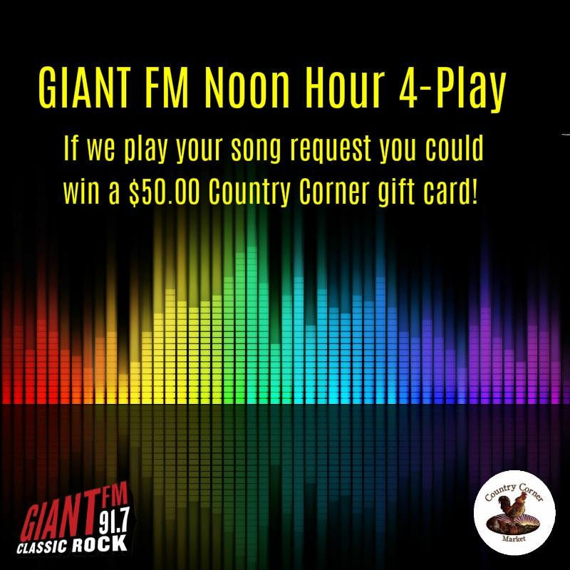 GIANT FM Noon Hour 4 Play
